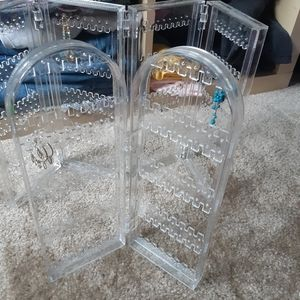 unknown Other - Set of 2 foldable earring storage racks
